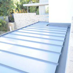 Colorbond multi-residential - Snap lock seam panel