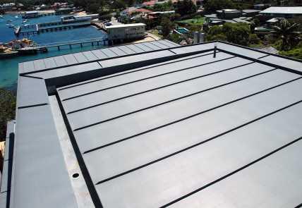 Double Lock Standing Seam Panel Metalbenz Fabrication