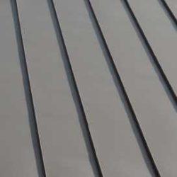 Aluminium commercial - Snap lock seam panel