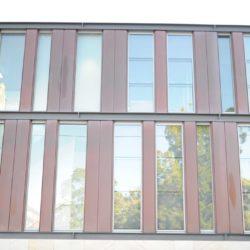 Copper residential - Interlocking panel
