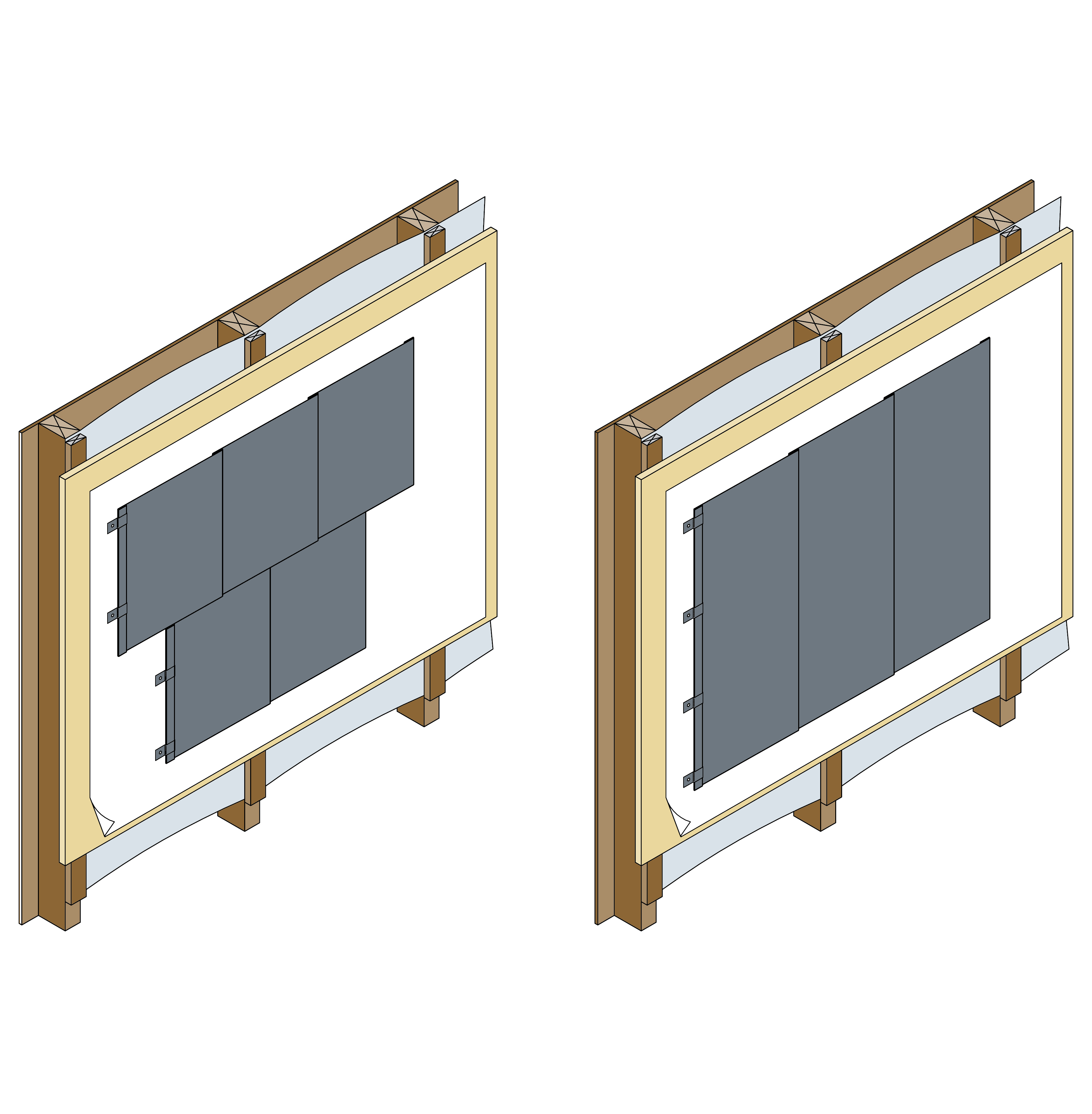 Flat Lock Seam Panel Metalbenz Fabrication