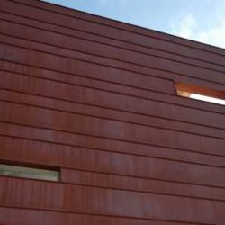 Copper residential - single lock standing seam