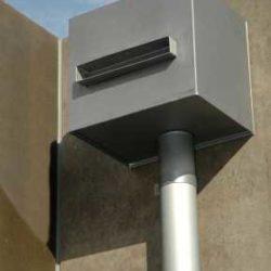 Zinc residential - rainwater head