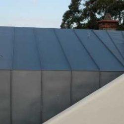 Zinc residential - single lock standing seam