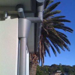 Zinc rainwater system