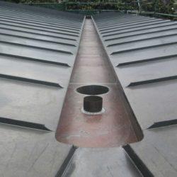 Zinc trough gutter