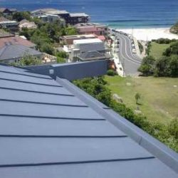 Zinc residential - double lock standing seam