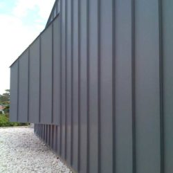 Zinc residential - Single lock standing seam panel