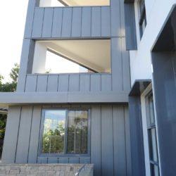 Zinc multi-residential - Interlocking panel