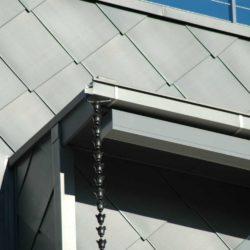 Zinc residential - Flat lock panel