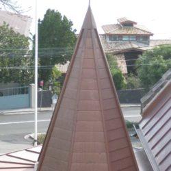 Copper heritage - Spire - Flat lock seam